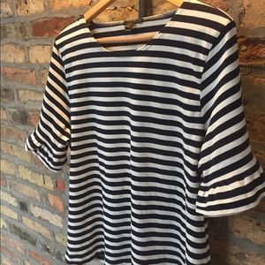 J.Crew striped t shirt